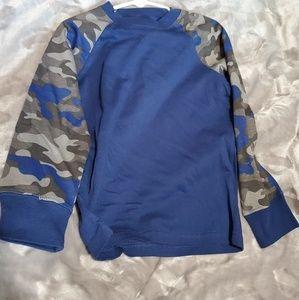 NEW Gymboree size 5 long sleeve shirt camo